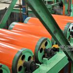 Dây truyền sản xuất tôn màu Đông Á