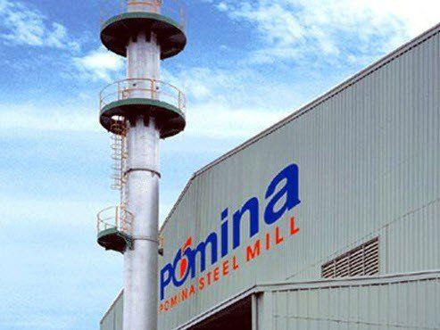 nhà máy sắt thép pomina